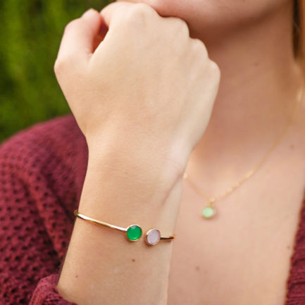pulsera color circular